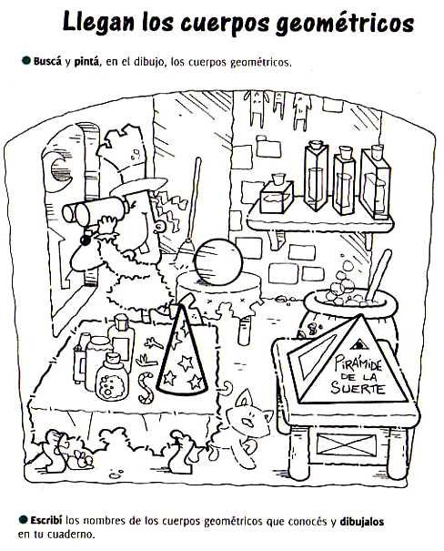 ...Aula Seño Sory...: Cuerpos geométricos. Actividades!!!                                                                                                                                                                                 Más