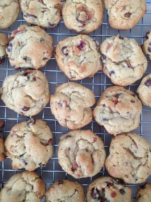 Maple bacon chocolate chip cookies | FOOD (: | Pinterest
