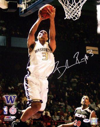 """Brandon Roy Washington Huskies NCAA Autographed 16"""" x 20"""" Photograph"": ""Enjoy this item hand signed… #Sport #Football #Rugby #IceHockey"
