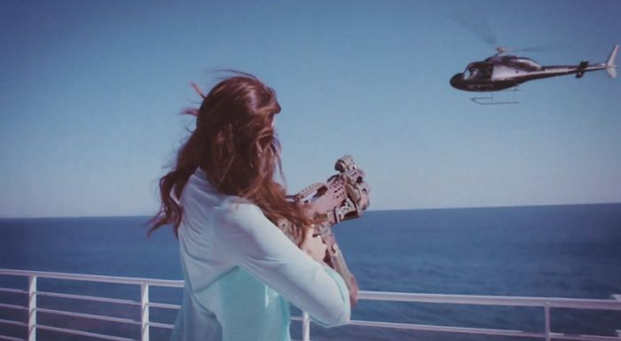 Lana Del Rey High By The Beach Video | Interview