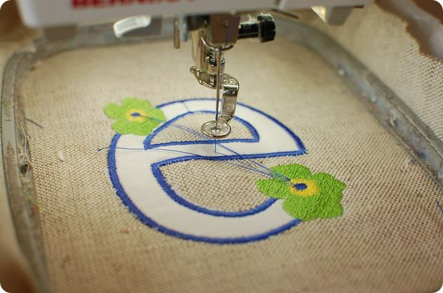 embroidery machine tutorial