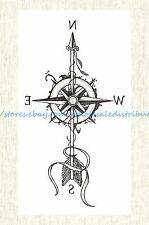 US SELLER, body tattoo arrow compass 8.25″ temporary tattoo | eBay – Tattoos