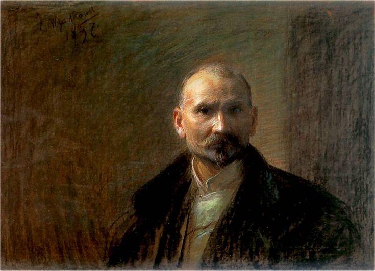 Self-Portrait (Leon Jan Wyczolkowski - )