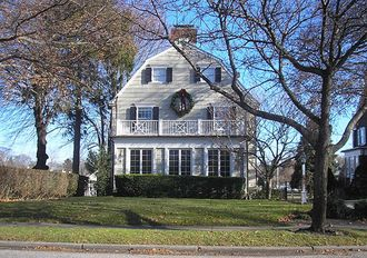 13 Real Haunted Houses You Can Visit in the U.S.  This one is the Amityville Horror House in Amityville, N.Y.