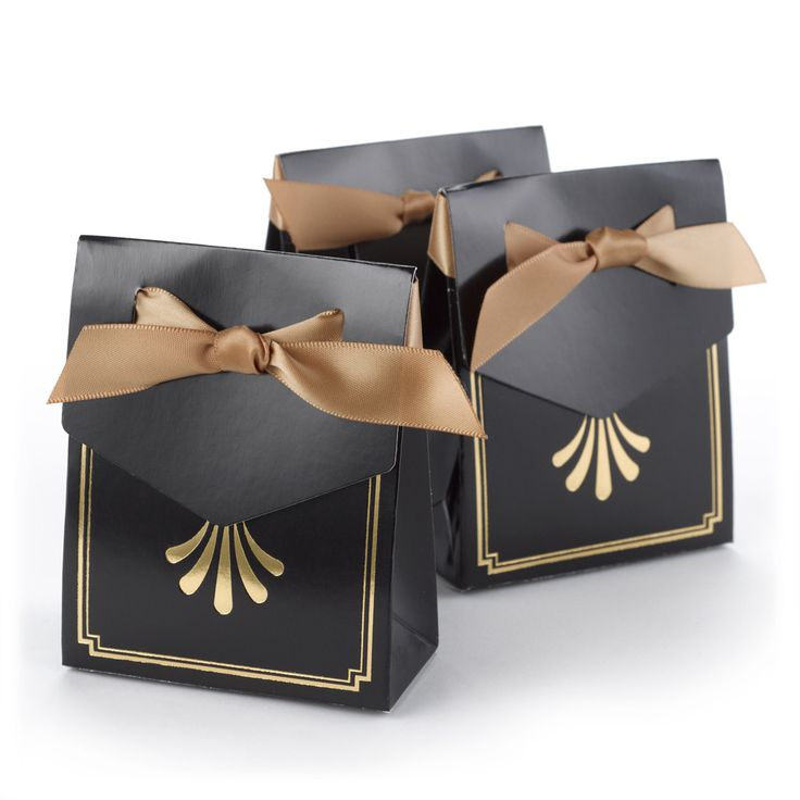 Art Deco Tent Favor Box (Pack of 25)   Candy Cake Weddings