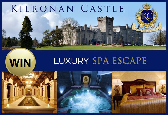 Win a Luxury Spa Break for 2 at Kilronan Castle Estate - http://www.competitions.ie/competition/win-a-luxury-spa-break-for-2-at-kilronan-castle-estate/