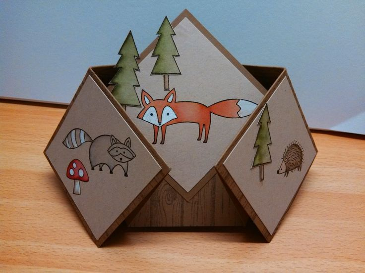 Stampin' it up with Belinda: Double Diamond Fold Card