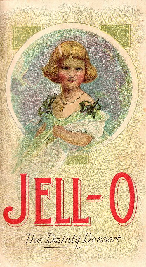 just thought this old advertising sign for jello was cool