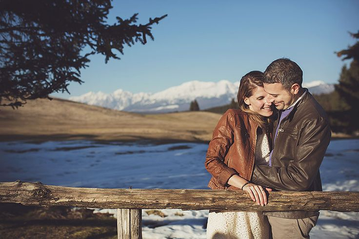 engagement session by Nadia Di Falco #engagement #photography #winter #ideas #love #forest #cansiglio