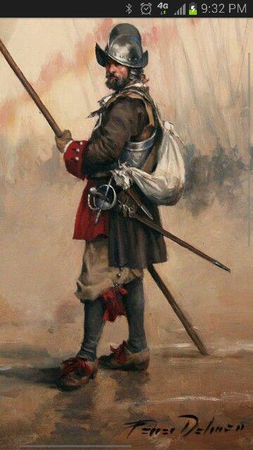 Spanish Soldier 1690