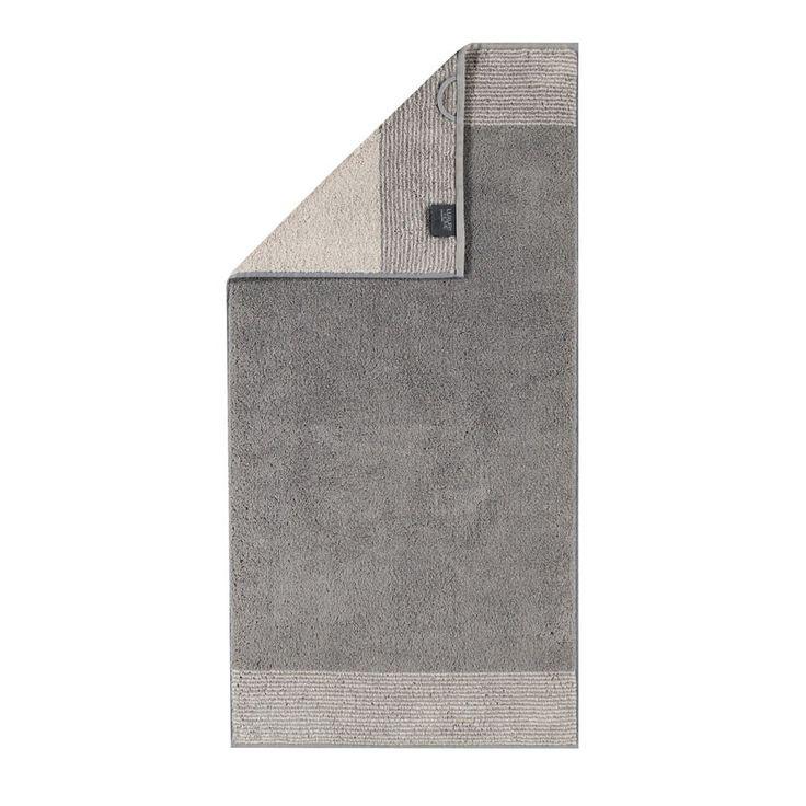 Cawö Handtücher Two-Tone graphit online kaufen