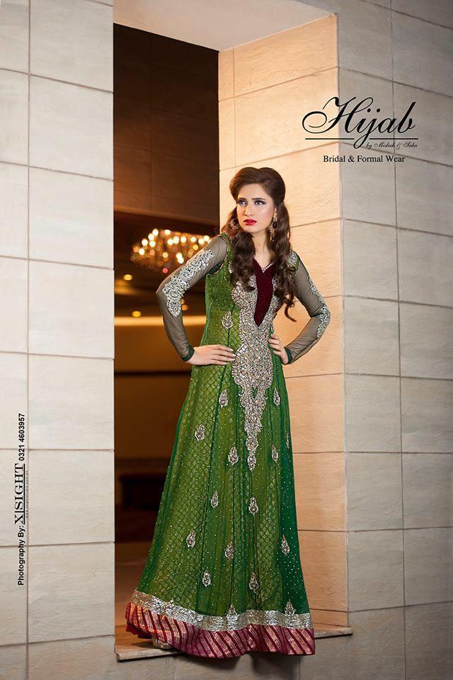 Indian Party Wear Frocks & dresses 2015-2016 (14)