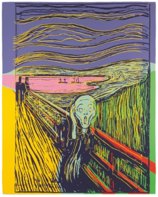 Andy Warhol - The Scream