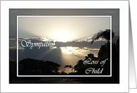 Sympathy Loss of Child Silvery Sunset Card by Greeting Card Universe. $3.00. 5 x 7 inch premium quality folded paper greeting card. cards & photo cards from Greeting Card Universe will bring a smile to your loved ones' face. Whether for one person or the whole family, a card will make the occasion memorable this year. Allow Greeting Card Universe to handle all your card needs this year. This paper card includes the following themes: Artcor7, sympathy, and child...
