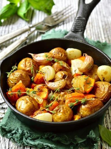 Poêlée de légumes d'automne - Recette de cuisine Marmiton : une recette