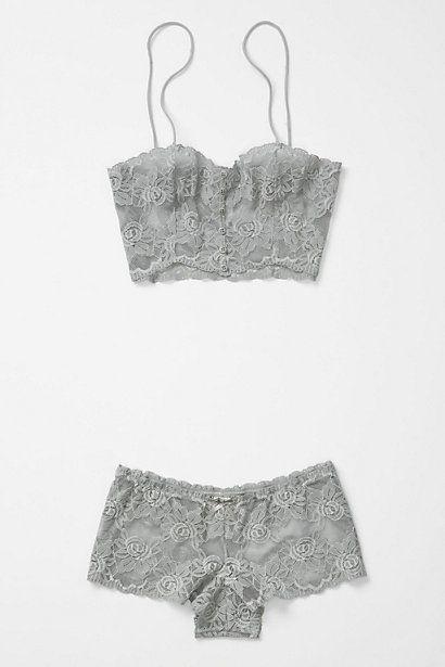 Xavia bra and pantie set from anthropologie.com - $28.00