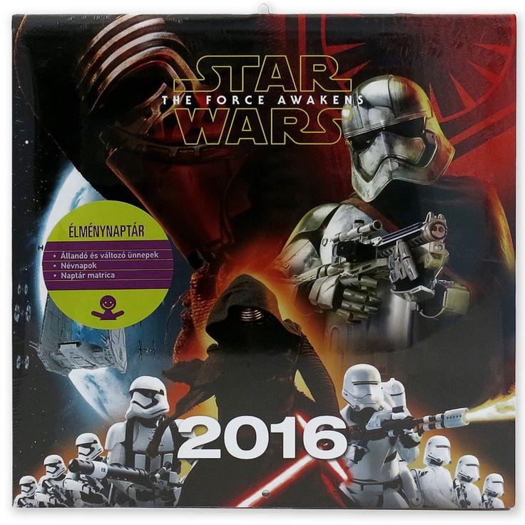 Star Wars VII. naptár poszterrel I Ajándék webáruház