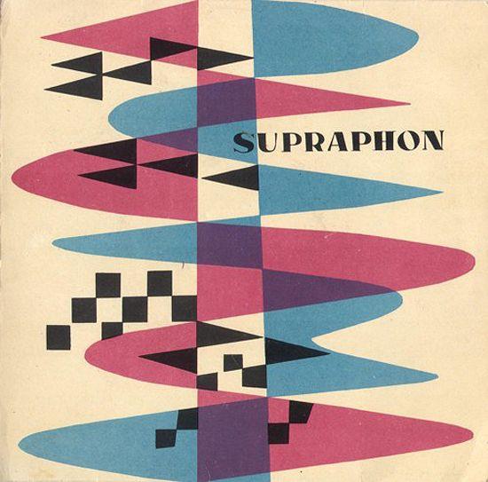 "(generic) sleeve 45"" RPM, cover graphic - ('50s/'60s), ""Supraphone"" Records."