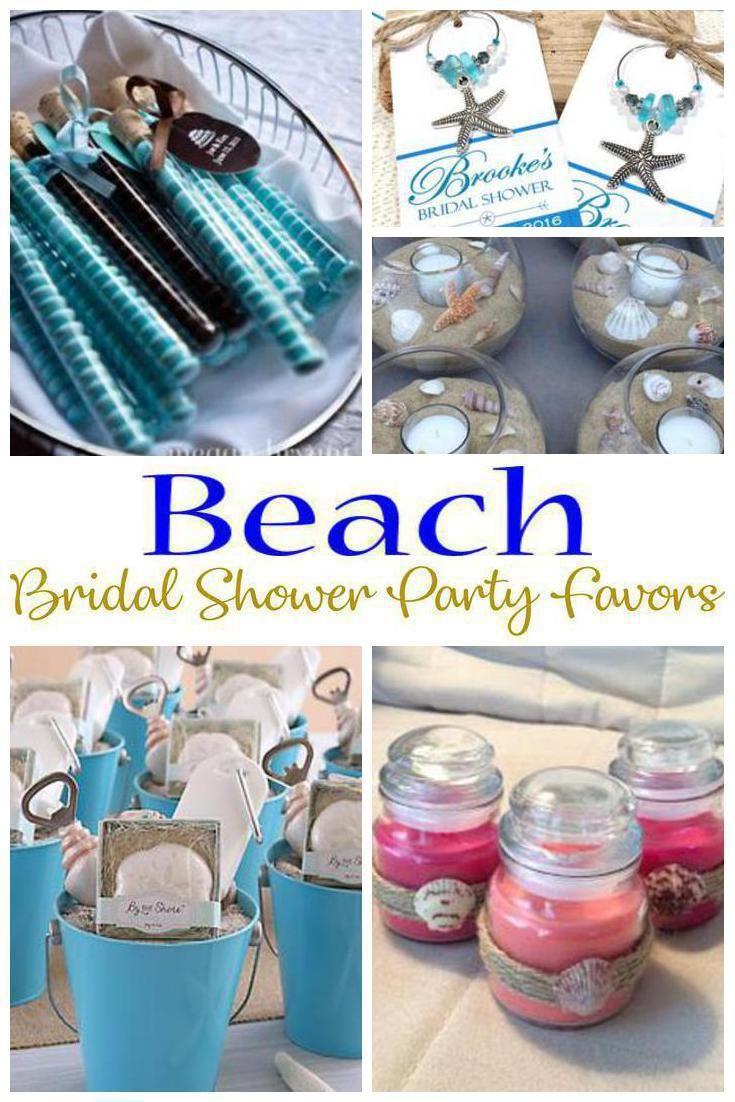 Beach Bridal Shower Party Favors Beach Theme Bridal Shower