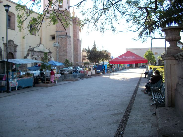 plaza de tlaltenango zac mexico