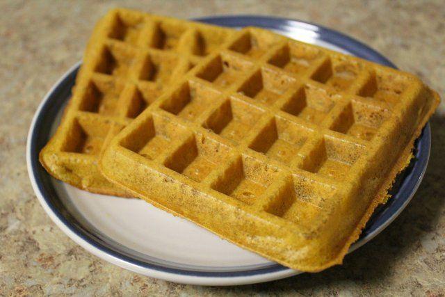 Carrot Cake Waffles 3
