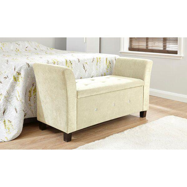 Andover Mills Clarissa Upholstered Storage Bedroom Bench Reviews Wayfair Co Uk
