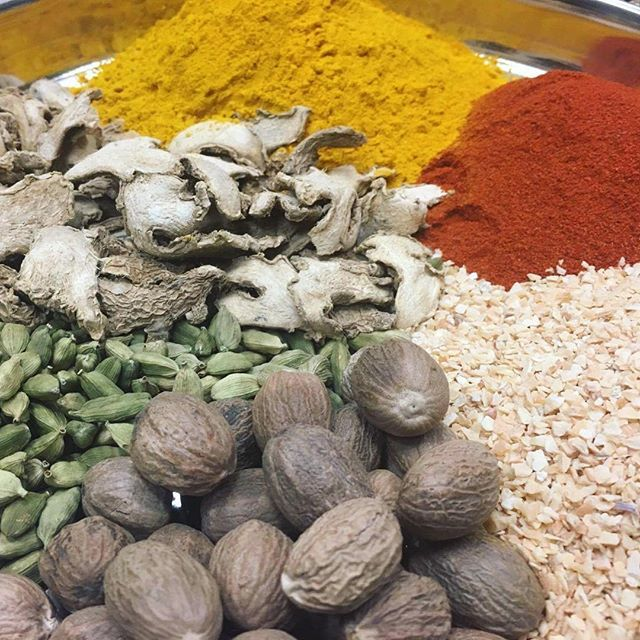 Another shot from our CHEK TV shoot! You can almost smell the spices #IndianSpices