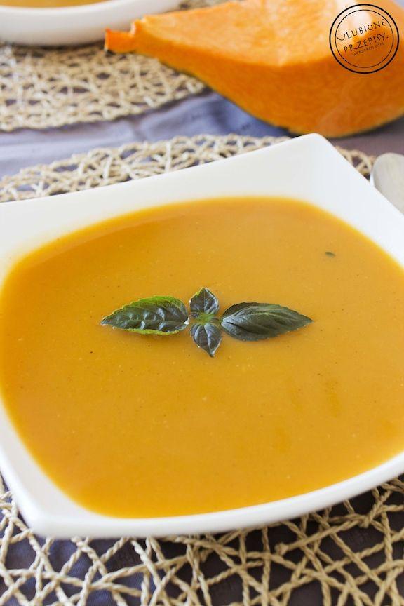 Zupa krem z dyni jest bardzo dobry, syty i słodko-pikantny.