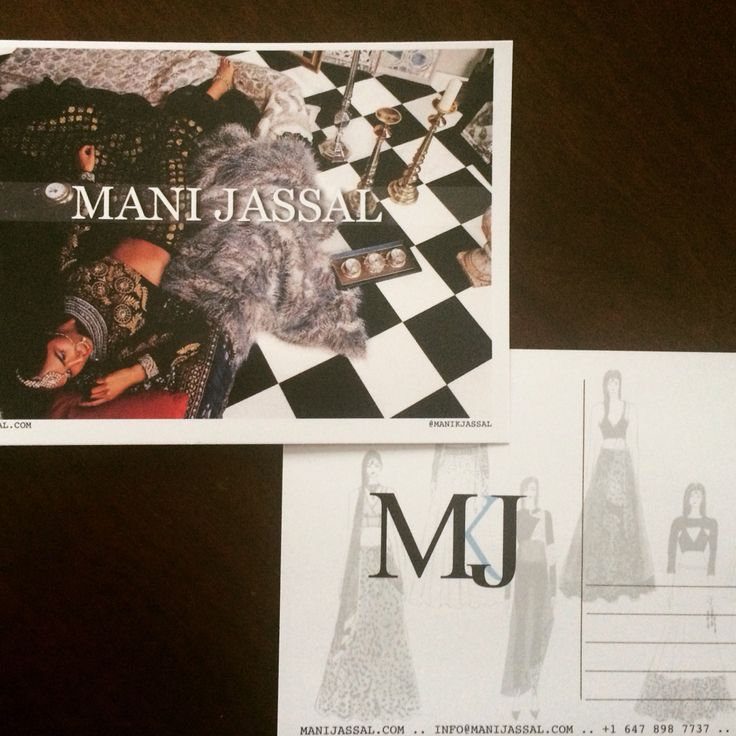 Check out our next @mywedhelper swag box item - a custom @manikjassal postcard perfect for sharing your stylish wedding ideas! | Fill in the understanding your needs form on the mywedhelper site and sign up for your free vendor filled swag box! | #southasian #Indian #desi #bride #bridal #vendors #design #designer #style #fashion #wed #wedding #weddingconcierege #engaged #engagement #toronto #gta #mywedhelper