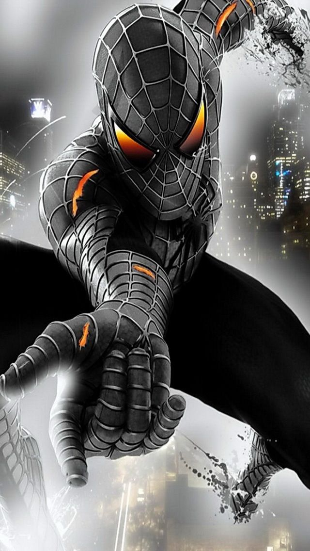 Black Symbiote Spider-Man - Visit to grab an amazing super hero shirt now on sale!