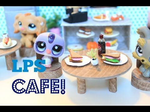 LPS DIY | How to make an LPS cafe - YouTube
