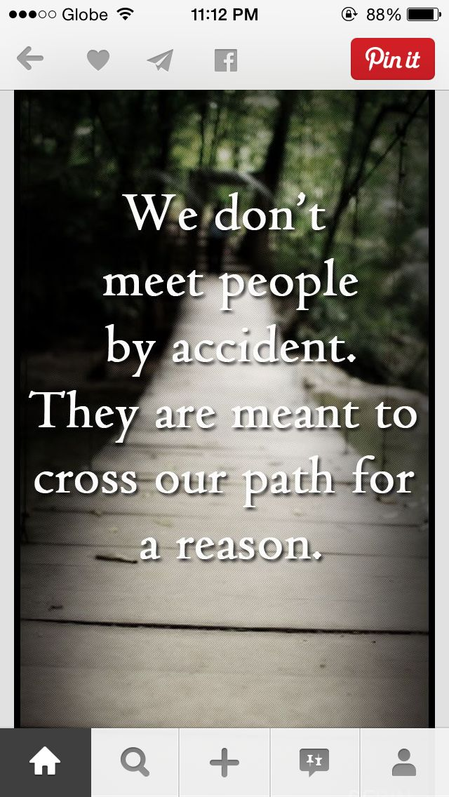 No accidents..