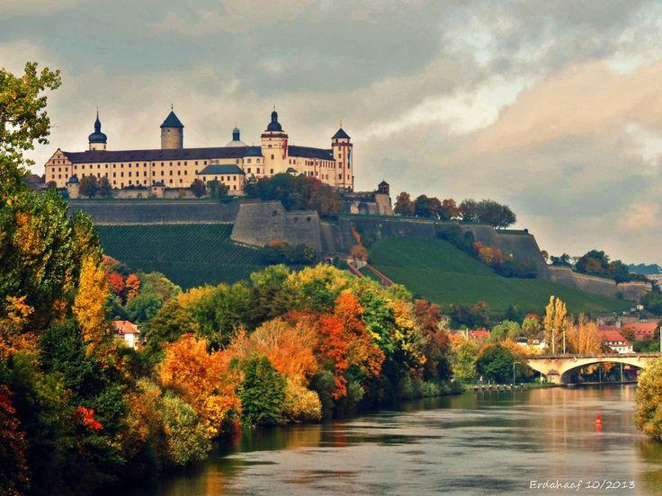 Amazing W rzburg im Herbst by ernsthaaf