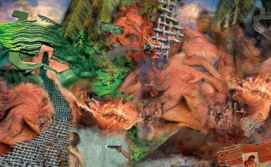 @CasaDaros: Paintant Stories, #FabianMarcaccio