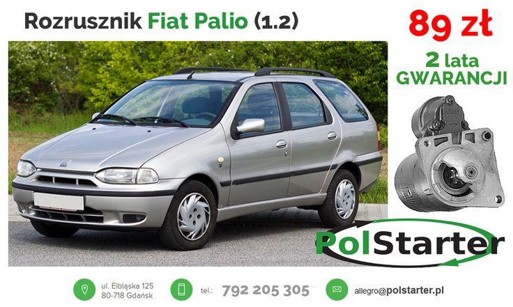 ⚫ #Fiat #Palio to wersja kombi popularnej w naszym kraju Sieny, produkowany już od 1997 roku. Rozrusznik do tego modelu z silnikiem benzynowym o pojemności 1.2 dostępny jest na naszej aukcji w bardzo niskiej cenie, tylko 89 zł!  #regenerowaneczęśći #częścisamochodowe #mechaniksamochodowy