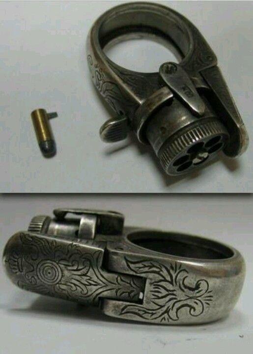 5-shot Ring Gun, 1800's