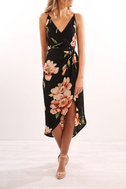 Kalene Dress Black
