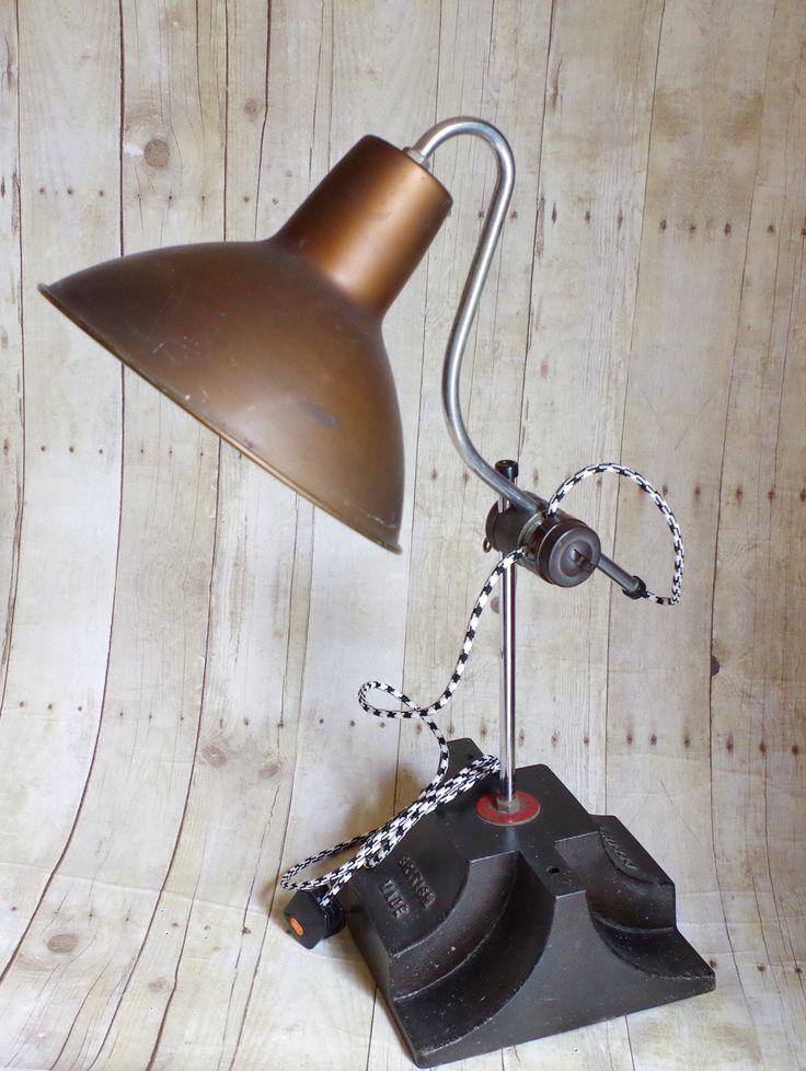 Very Rare Perihel Vintage Desk Heater Lamp c1940s