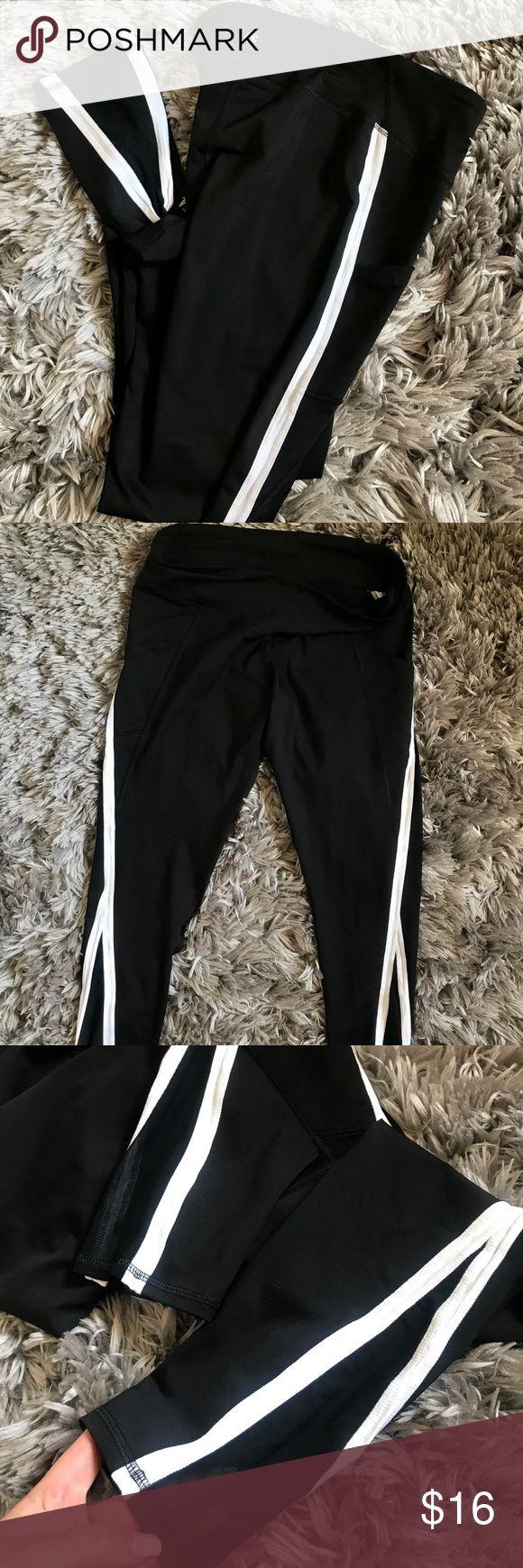 Women's workout pants • New + Full length (ankle) Women's workout leggings •• Target •• NWOT 🌚 adorable mesh at bottom of leggings >> target Pants Leggings