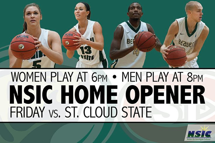 The Beaver open the home portion of theirt 2013-14 NSIC slate Friday (Dec. 6) at 8 p.m. GoGreen!