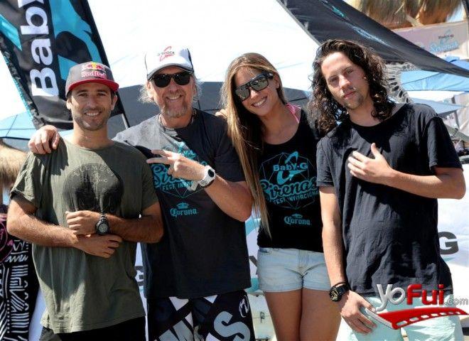 YoFui.com: Spìro Razis, Fernando Fuenzalida, Trinidad Segura, Martín Avendaño en Baby-G Sirenas Fest, Playa Punta de Lobos, Pichilemu (Chile)