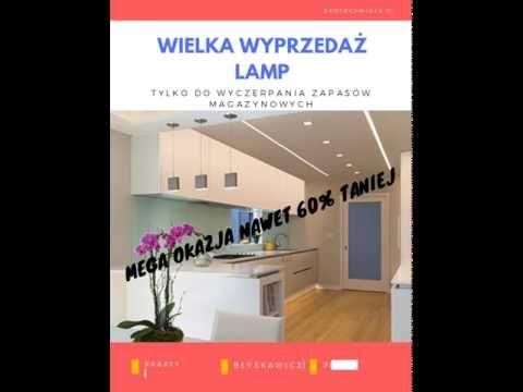 Wielka wyprzedaż oświetlenia https://ekotechnik24.pl/pl/promotions/2