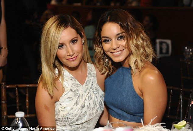 Happy for her bestie: Vanessa Hudgens talked to Us Weekly about her close friend Ashley Ti...
