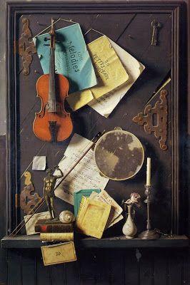 TICMUSart: The Old Cupboard Door - William Michael Harnett (1...