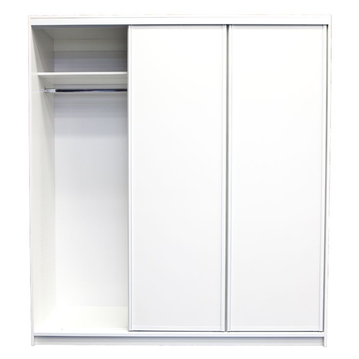 Bedford 2000 x 1790 x 595mm 3 Door Wardrobe Unit
