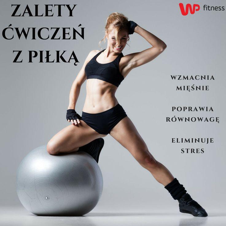 Ćwiczyliście kiedyś z piłką? Jeśli nie, to musicie koniecznie spróbować :) #gymball #ball #training #fitrness #fit #piłka #ćwiczeniazpiłką #trening