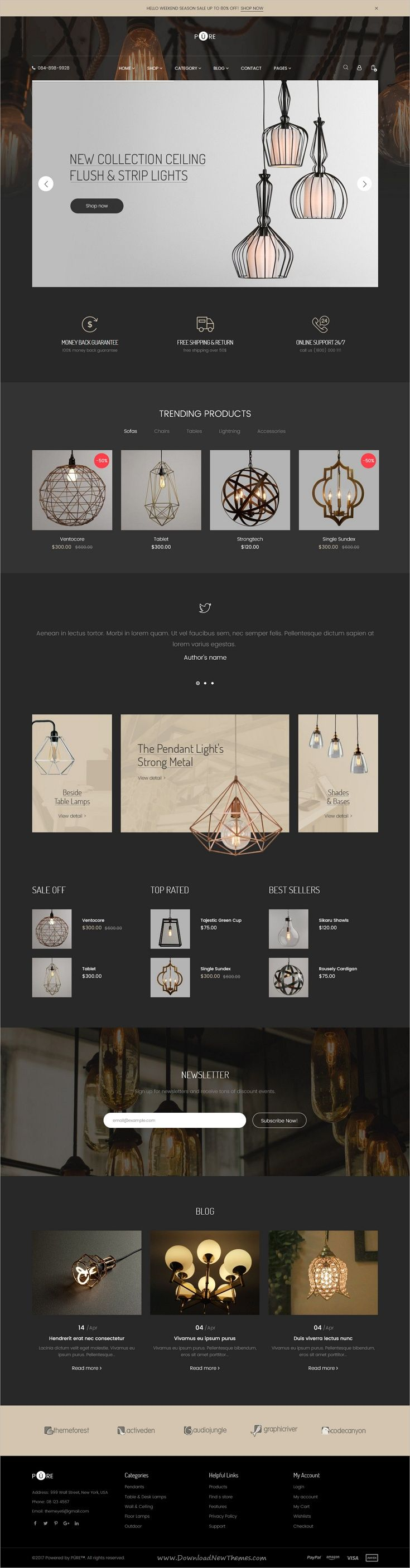 Shopie is stylish and minimal design responsive #Shopify theme for stunning #light store #eCommerce website with 27+ multipurpose niche homepage layouts download now..