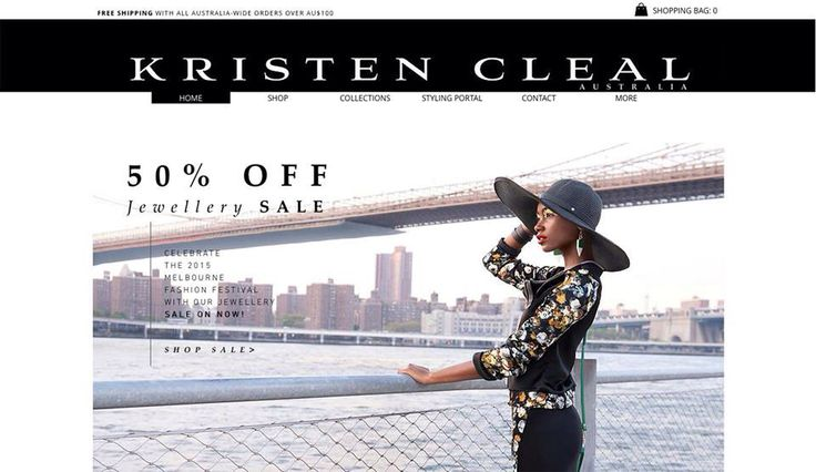 Our website is now OPEN! New design layout + heaps of fresh fashion content... to distract you at work! Join us in celebrating with a 50% OFF ALL JEWELLERY SALE! Prices already applied in our online shop at www.kristencleal.com.au