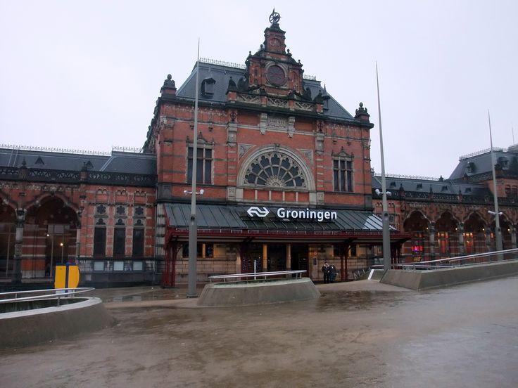 Central Station Groningen.