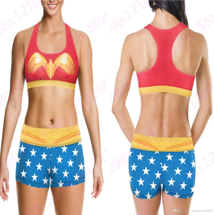 2016 Wonder Woman Camisoles Tanks Shirts Phoenix Running Singlet Vest Red Gold Blue Stars Wonder Woman Camisole Sports Tank Tops Print Sleeveless From Yomivera2015, $14.63 | Dhgate.Com